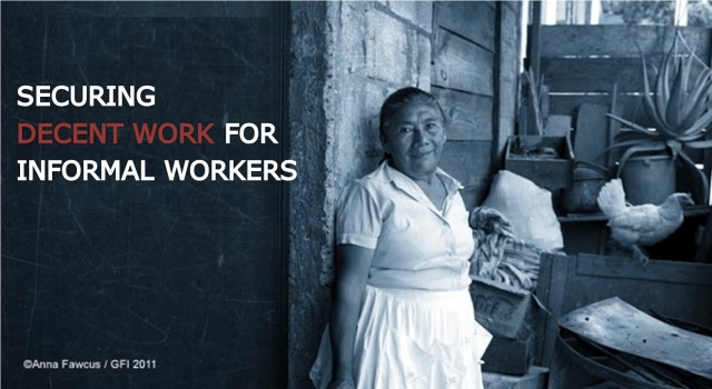 Addressing Informality and Decent Work